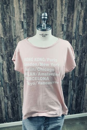 T-Shirt City in Rosa